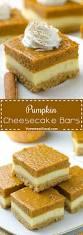 pumpkin cheesecake bars recipe pumpkin cheesecake cheesecakes