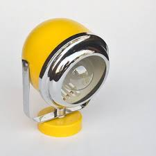 Yellow Wall Sconce Atomic Yellow Wall L Sconce Spt From The Curious