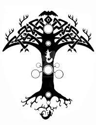 pinterest u0027teki 25 u0027den fazla en iyi yggdrasil tattoo fikri norse