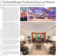 the ronald reagan presidential library and museum museum guide