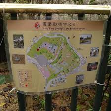 Hong Kong Zoological And Botanical Gardens Map Of The Grounds Picture Of Hong Kong Zoological And Botanical
