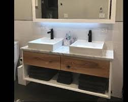 Modern Vanity Bathroom Bathroom Vanity Etsy