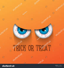 spooky halloween background evil eyes stock vector 214588696