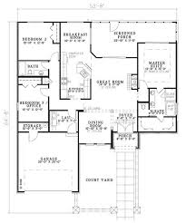 european style house plan 3 beds 2 00 baths 1747 sq ft plan 17 123