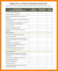 conference planning checklist template eliolera com