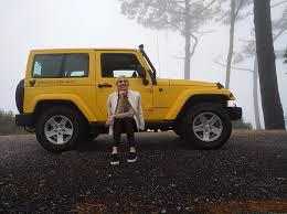 yellow jeep jeep wrangler review giraffe in the city