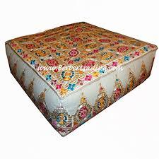 Ottoman Morocco Pouf Hassock Ottoman Moroccan Poof Floor Cushion