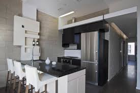 Concrete Apartments by Apartments Black Kitchen Cabinets And Black Countertops With