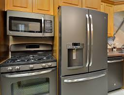 best kitchen appliance packages amazing ge slate matte stainless steel appliances decorating ideas