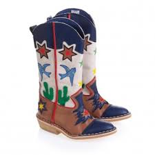 cowboy boots uk leather adorable boot alert stella mccartney embroidered eco leather