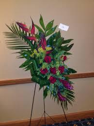 Traditional Funeral Flower - tropical funeral flower arrangement flowers pinterest