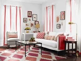 Shabby Chic Sleeper Sofa Colorful Shabby Chic Living Room White Sheepskin Area Rug Brown