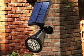 best outdoor solar powered spot lights 2017 top 6 reviews