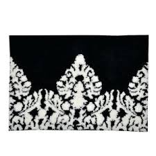 Black And White Checkered Rug Black And White Bathroom Rugs Vcny Davenport Nonslip 2piece Bath