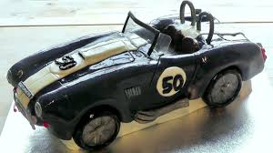 jeep cake tutorial car birthday cake ac cobra how to make bespoke edible cakes youtube