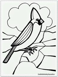 flying tropical bird coloring pages