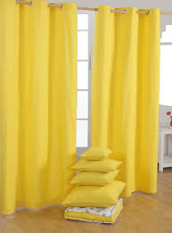 Yellow Nursery Curtains Fancy Yellow Cotton Curtains Inspiration With Yellow Blackout