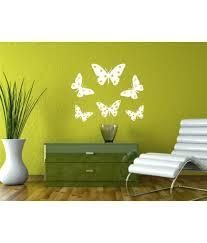 wall guru lovely butterfly vinyl wall stickers buy wall guru wall guru lovely butterfly vinyl wall stickers
