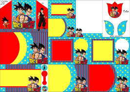 dragon ball free printable invitations fiesta geeks