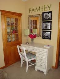 red chalk painted desk at coastal home coastal colors furniture