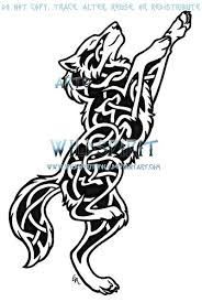 celtic wolf designs pictures to pin on tattooskid