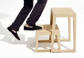 wooden step stool step ladder theo step by sixay furniture