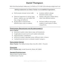 teaching objective for resume cover letter dancer resume template dance resume template dancer cover letter dance teacher resume sample teaching objective great examples dance teacherdancer resume template extra medium