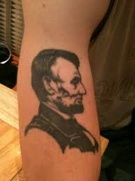 abraham lincoln tattoos inked magazine