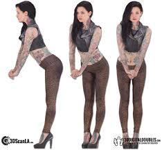 Female Body Reference For 3d Modelling Female Body Scan 22 83 U2013 3d Scan Data For Sale Digital Doubles