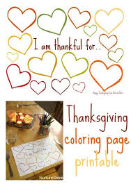 thanksgiving coloring writing printable kids