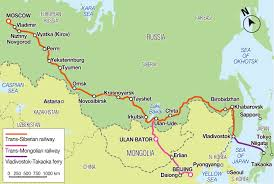Moscow On Map Taking The Long Trans Siberian Road To Japan The Japan Times