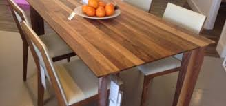 solid walnut dining table new solid walnut dining table made in canada parc modernparc