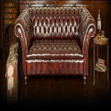 canapé anglais cuir canapé cuir anglais chesterfield occasion maison