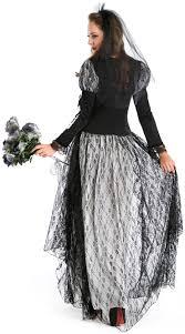 halloween ghost bride costume boneyard skeleton bride costume n9124