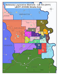 Zip Code By Map Nebraska Legislature Maps Clearinghouse