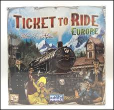 ticket to ride european board verison cards