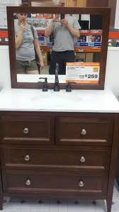 home depot design your own bathroom vanity i married a tree hugger a bathroom vanity that looks like a dresser