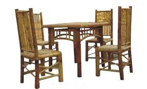Bamboo Dining Table Set Bamboo Dining Table Set At Rs 20000 Set Sector 26 Noida Id