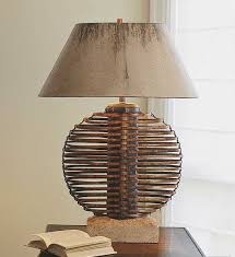 Wicker Table Lamp Seagrass And Rattan Furniture Decor Accessories Lighting