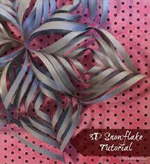 best 25 3d paper snowflakes ideas on paper snowflakes