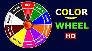 chart free printable color wheel chart color wheel chart