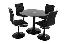 table ronde et chaises table 4 chaises pas cher table a manger rallonge maisonjoffrois