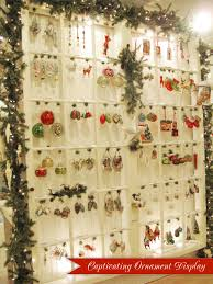 wall of ornaments from the bethany lowe designs showroom in