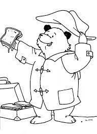 paddington bear coloring pages print paddintong bear