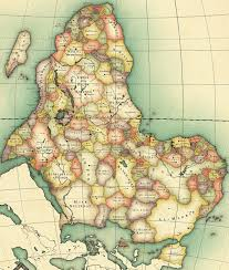 Africa Colonial Map by Africa Nest