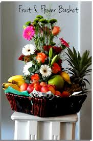 fruit and flowers fruit and flower basket paddy gibb