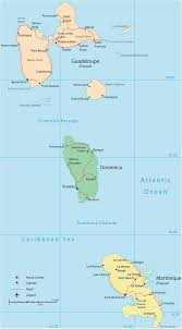 St Maarten Map Map Of Guadeloupe Saint Martin Basse Terre