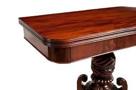 Mahogany Side Table American Federal Side Table In Mahogany Boston C 1815 Bonnin