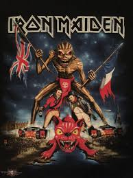Iron Maiden Flag Iron Maiden The Book Of Souls World Tour Download Festival 2016