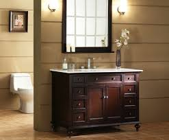 formal bathroom ideas with white countertop using standard vanity